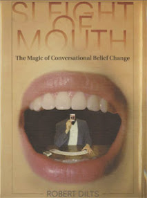 Cover of Robert Dilts's Book Sleight Of Mouth The Magic Of Conversational Belief Change
