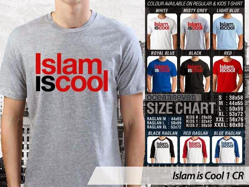 Kaos Muslim Islam is Cool 1 Islam is Cool distro ocean seven
