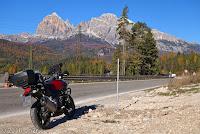 Bei San Vito di Cadore, Richtung Cortina d'Ampezzo.