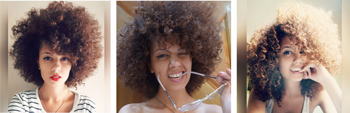 cabelo cacheado lubatalha