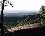 The summit of Sugarloaf Mountain, near Barnesville, Maryland.