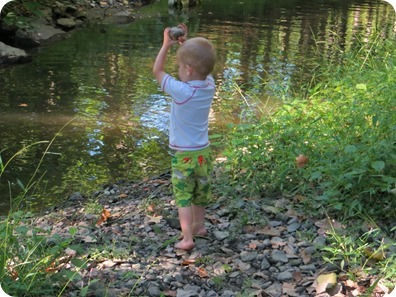 Playing in the River, Mountainville, NY