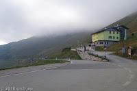 Das Albergo Rifugio Graziani am Fusse des Monte Altissimo.