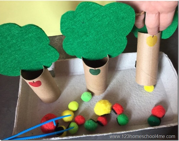 fun fall kids activity for preschool