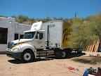 Pella truck arrives 6/22