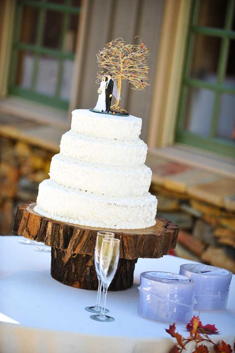 20 tree slice cake stand with