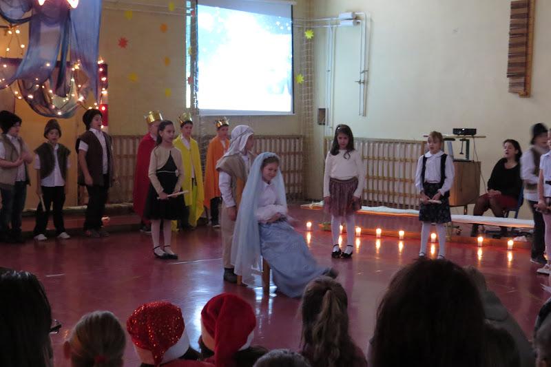 Karácsonyi műsor a Kosdi Arany János Általános Iskolában
