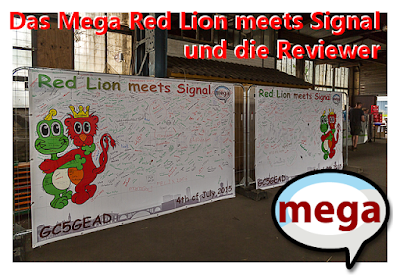 "Das Mega ""Red Lion meets Signal"" und die Reviewer"