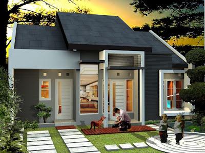 Fasad Arsitektur Rumah Dari Depan