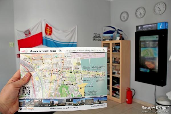 Jak wyglądała mapa spaceru Gdynia w jeden dzień?