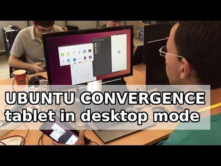 Ubuntu convergence: tablet in desktop mode
