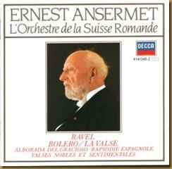 Ravel Rapsodia Ansermet