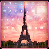 Summer Nights In Paris Keyboard APK for Bluestacks