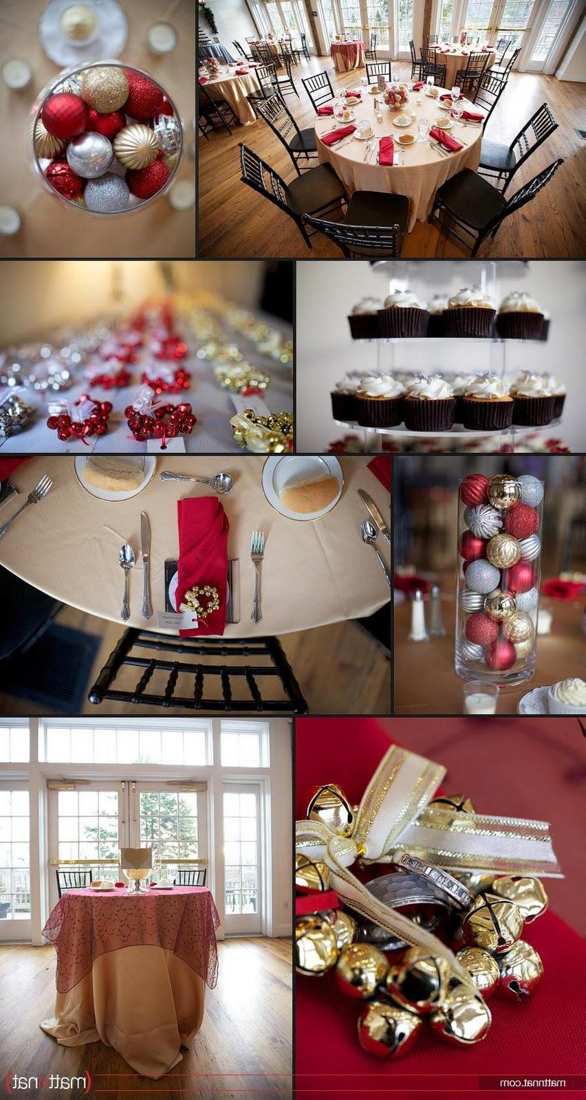 Christmas Wedding Receptions