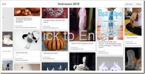 Halloween on Pinterest 2015