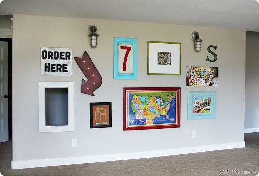 Awesome wall in play room
