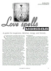 Love Spells Reconsidered A Guide for Magicians Witches Clergy And Friends