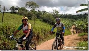 Ciclistas no AdventureTour- Bananeiras 2