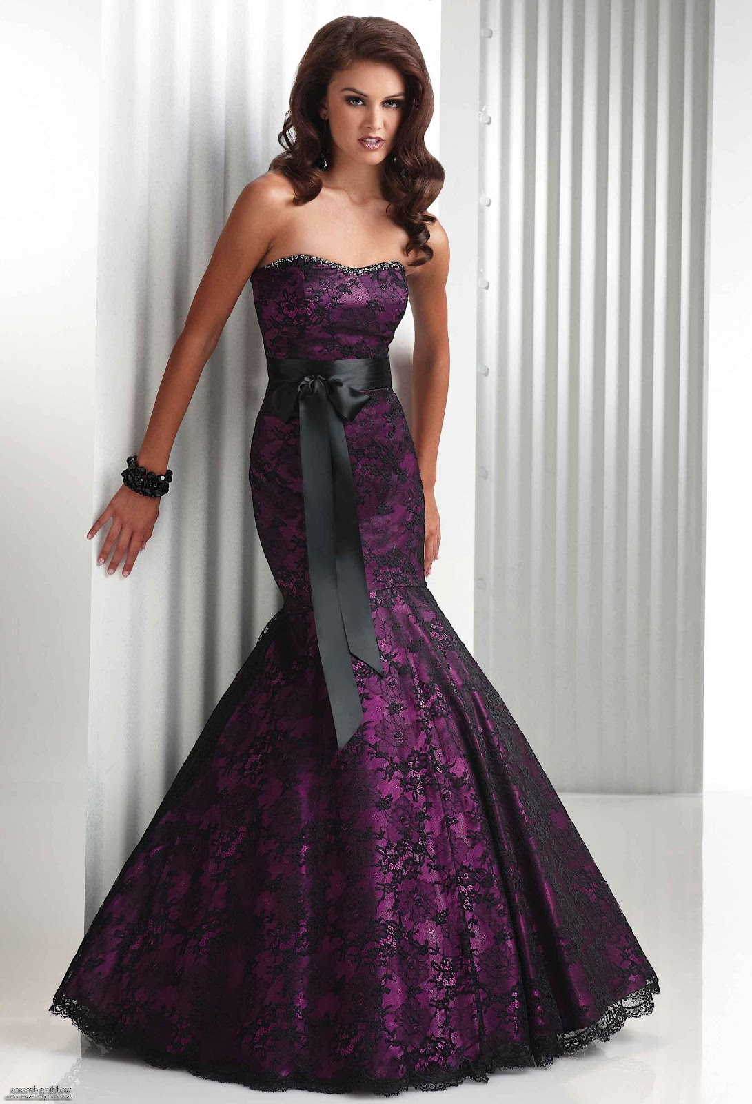 Wilmide 39 s blog black gothic wedding dresses for Black gothic wedding dress
