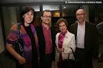 Cristina Sánchez Rivas, José Luis Ruiz del Puerto, Dª Rosa Gil y Francisco Oltra