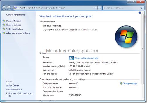Download Driver Lenovo Y400,G400 For Windows 7x64 64bit
