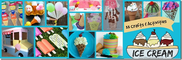 ice cream crafts facebook