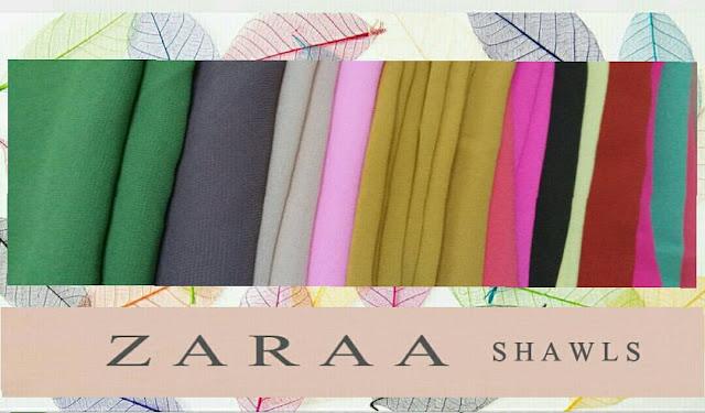 shawl murah, shawl cantik dan murah, shawl senang bentuk,