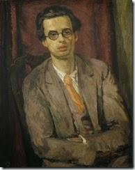 NPG 6717, Aldous Huxley
