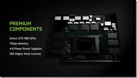 NVIDIA toi GTX 980 grafiikkasuorittimen kannettavaan, ilman M -liitettä