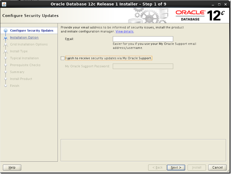 Oracle Database Software Installation 1