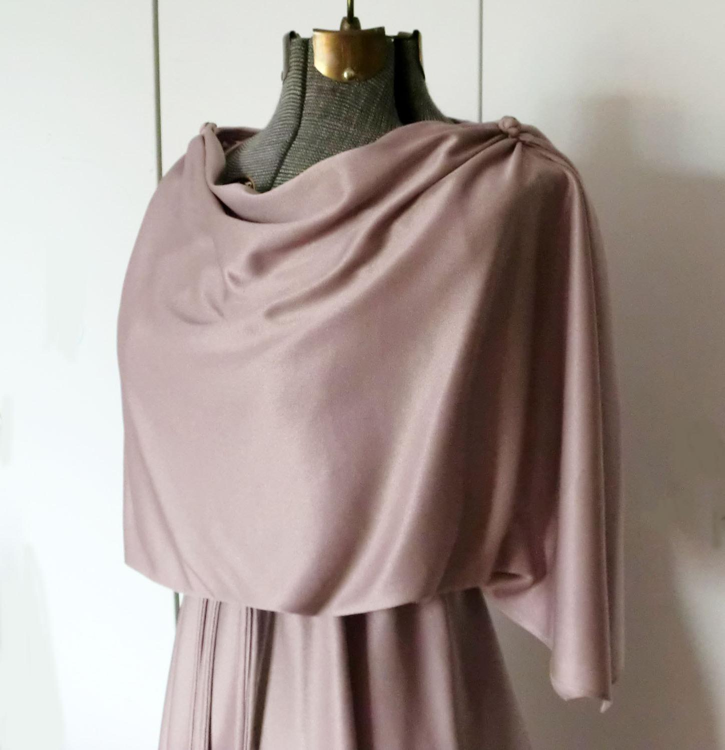 Rose Grecian Goddess Dress