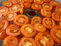 making pelatti, drying tomatoes (2)