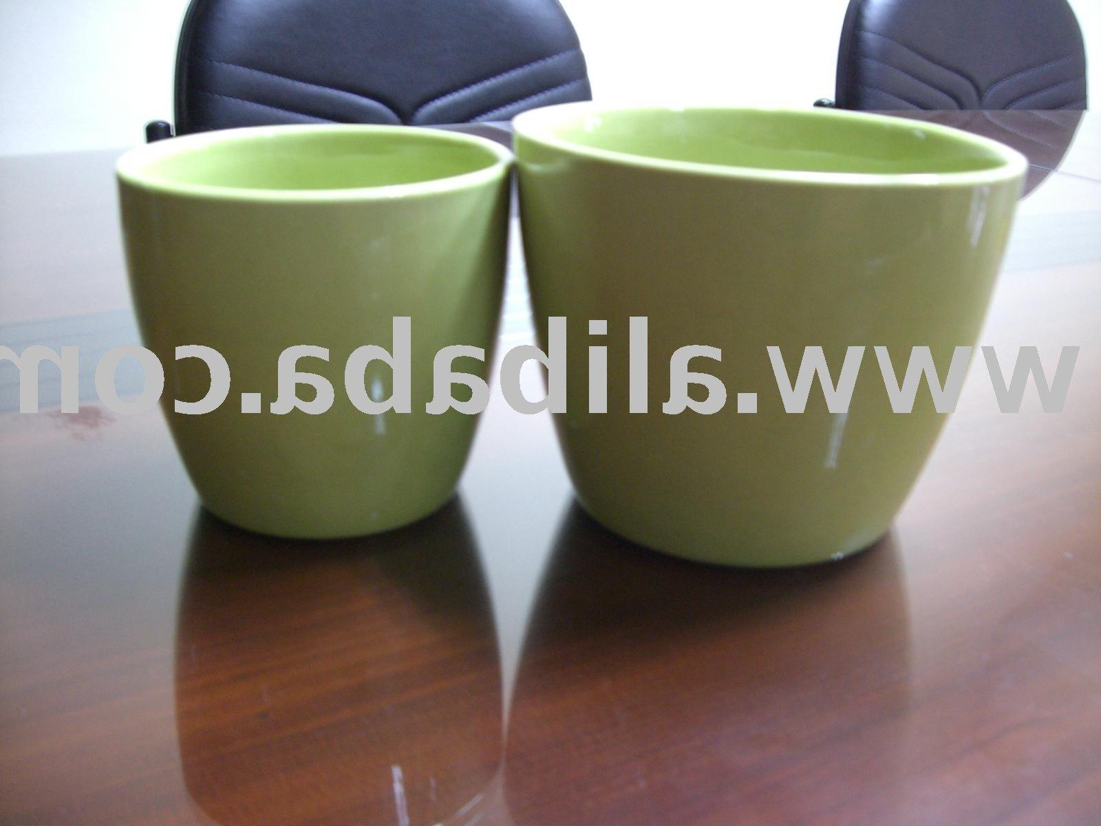 See larger image: Ceramic Flower Pots. Add to My Favorites