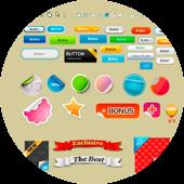 Дизайн элементов веб-графики