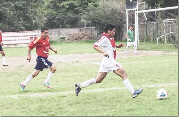 Ajax de Taxco contra Rojos del San Miguel-semifinal de Veteranos (2)