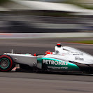 Michael Schumacher, Mercedes W03