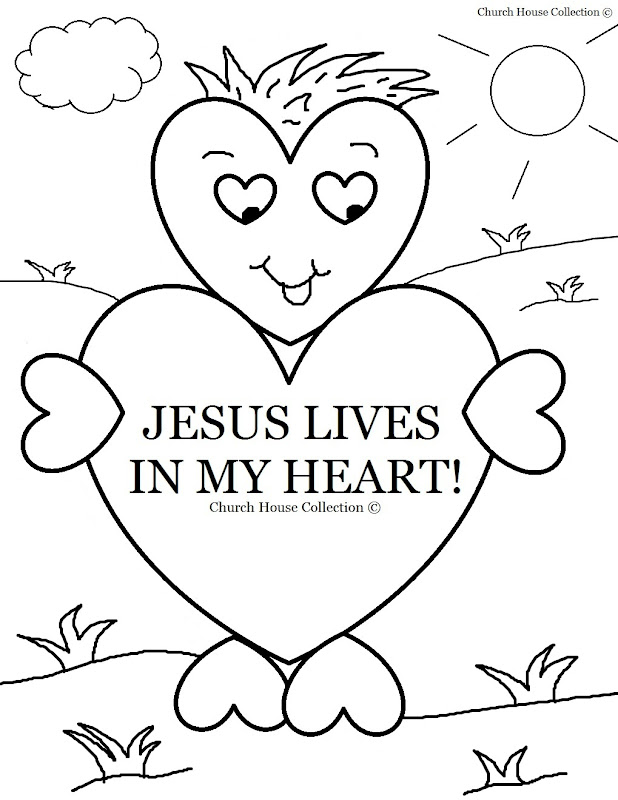 jesus coloring pages free printable - Jesus coloring page Hellokids