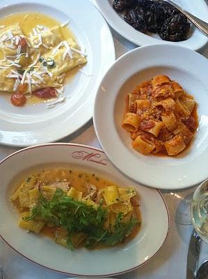 Pasta at Maialino's