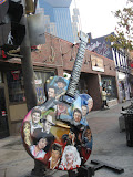 A cool guitar in downtown Nashville TN 09032011b