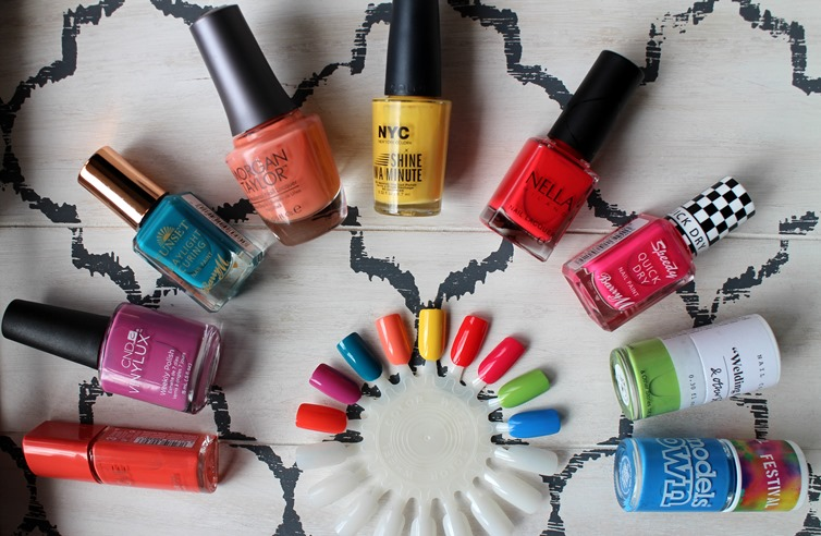 Summer-2015-Nailpolish-brights