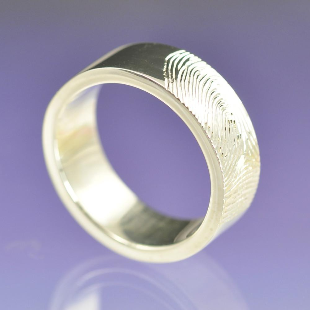 Personalised Fingerprint Ring.