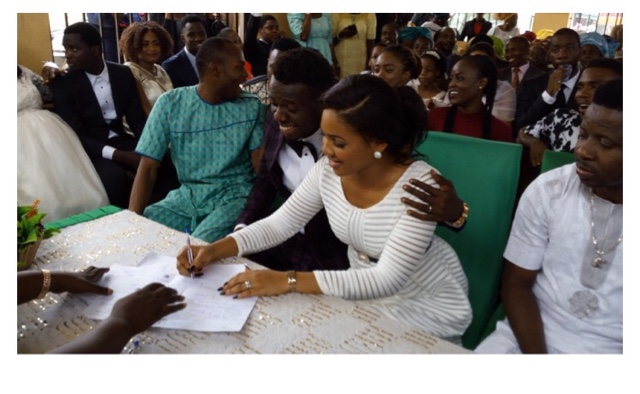 comedian Akpororo wedding at Ikoyi registry