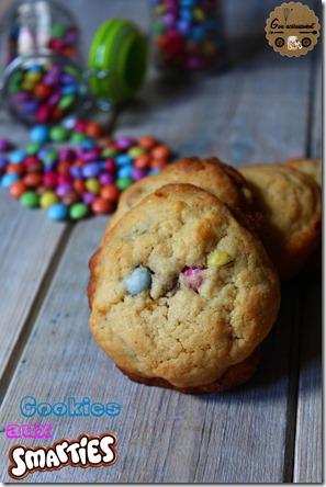 Cookies aux Smarties 6
