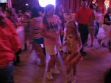 Lori and Hannah line dancing in the Wildhorse Saloon in Nashville TN 09032011c