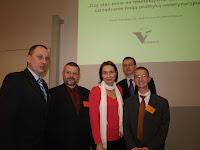 Organizatorzy Szkolenia: M. Wojtacki, A. Lisowski, J. Wojtacka (VetOffice), R. Karczmarczyk, C. Kolthoff (wykładowca)