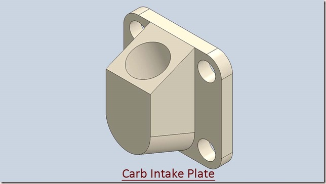 Carb Intake Plate