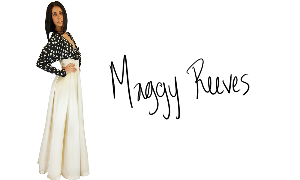 Maggy Reeves [A Canadian Couturier]