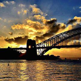 Sydney Harbour  by Angela Taya - Novices Only Landscapes