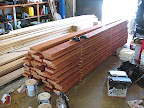 Stained joists for overhangs 9/13
