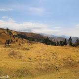 Cruzando de uma montanha a outra rumo a Ingapirca, Equador